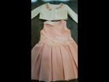 Нежное нарядное платье с пиджаком