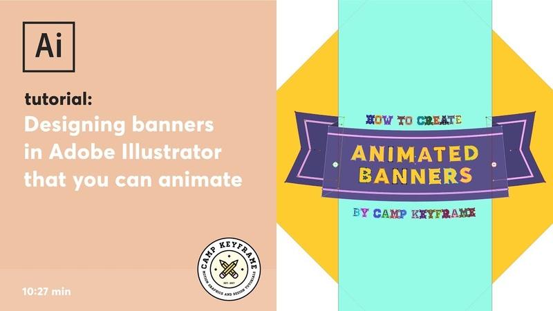 Illustrator Tutorial - Designing banners