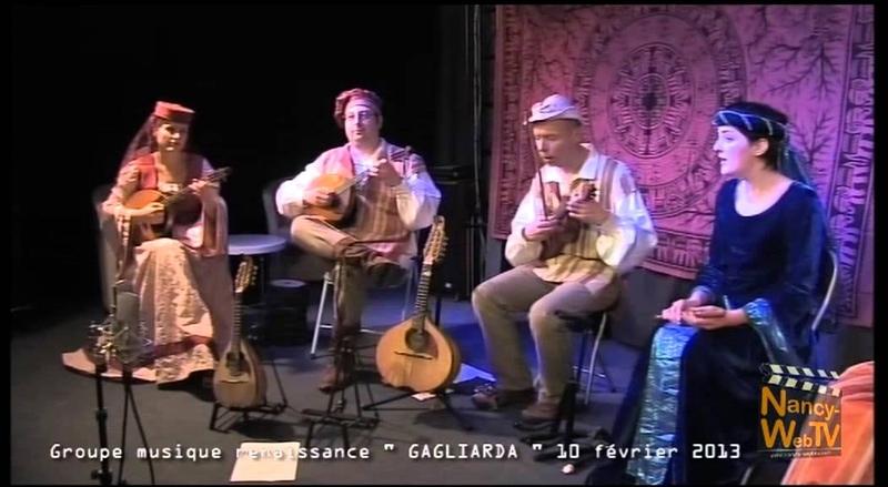 GAGLIARDA Pavane - Belle qui tiens ma vie