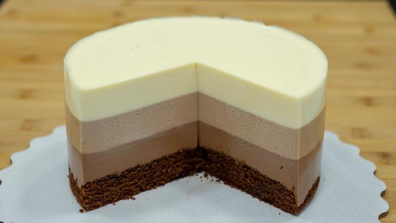 🍫 Три шоколада на СМЕТАНЕ🥛 Муссовый торт Я ТОРТодел