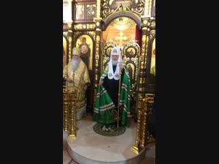 Проповедь после Божественной литургии в храме преподобных отцев Киево-Печерских в Старых Черемушках
