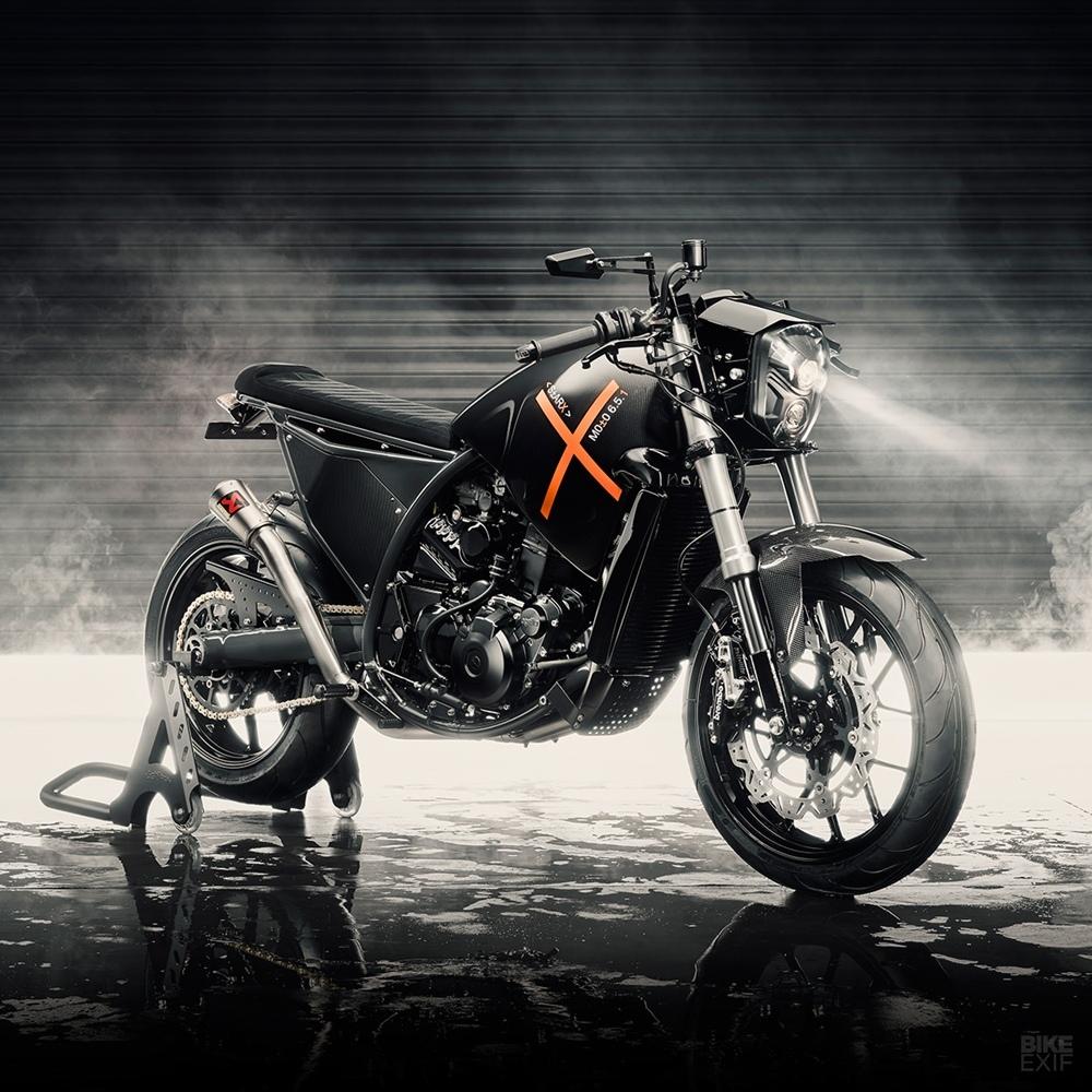 Wreckless Motorcycles: кастом Aprilia Moto 6.5 S±ARX