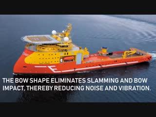 Ulstein X-Bow Ships Revolutionary Ship Design