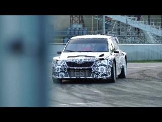 Аббринг и Аль-Аттия на тестах Skoda Fabia Supercar