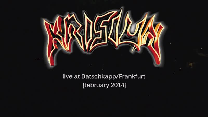 KRISIUN Kings Of Killing Live At BatschkappFrankfurt 2014 afonya drug