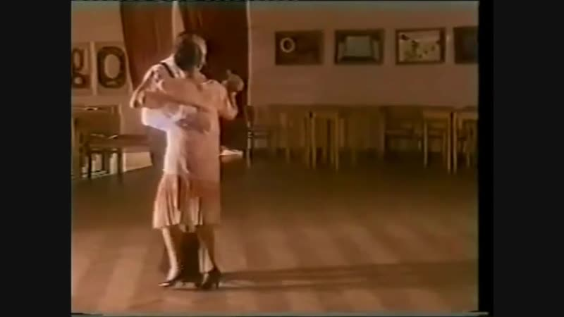 [Asi se baila milonga] - Pepito Avellaneda - Clase 7 Vaiven combinado
