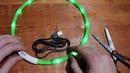 Светящийся ошейник для собак с Алиэкспресс Обзор светящегося ошейника для собаки с Aliexpress