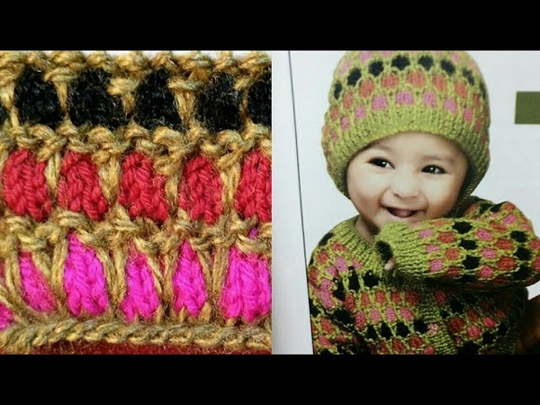 Easy Woolen Baby Cap,Baby Sweater and Baby Pajama Design in Hindi:Design-60