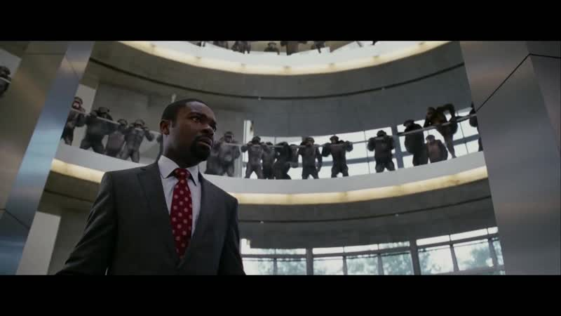 Восстание планеты обезьян - Дублированный трейлер 2