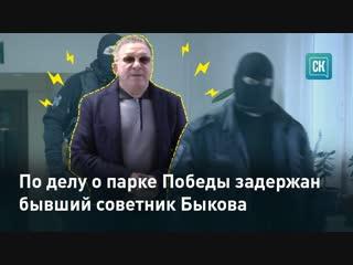 Задержание Леонида Яфаркина по делу о парке Победы