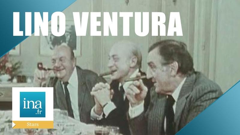 Lino Ventura Aventures gastronomiques avec Jean Gabin et Bernard Blier | Archive INA