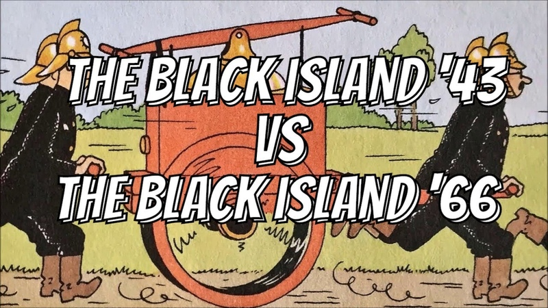 Tintin Edition Comparison: The Black Island 1943 vs The Black Island 1966 (Part 2 of 2)