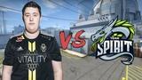 CSGO POV Vitality ZywOo vs Spirit (2610) nuke @ LOOT.BET Cup #3