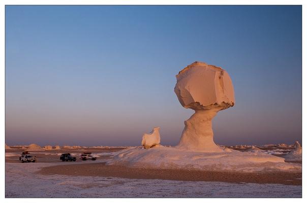 Белая пустыня в Египте (White Desert)