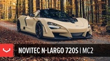 Novitec N-Largo McLaren 720S Widebody Novitec x Vossen Forged MC2 Wheel