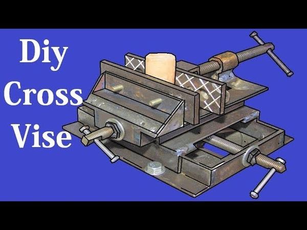 DIY Cross Vise Using Angle Bar