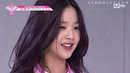 Produce 48 [단독/48스페셜] - Bae Yoon Jung's reaction to the Very Very Very centers [Eng subs]
