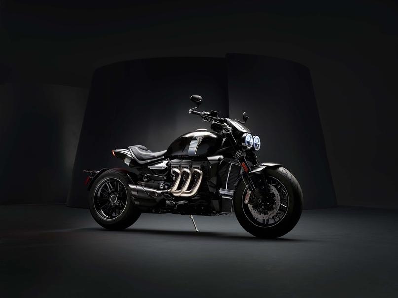 Triumph Rocket 3 TFC 2019 - самый мощный мотоцикл Triumph