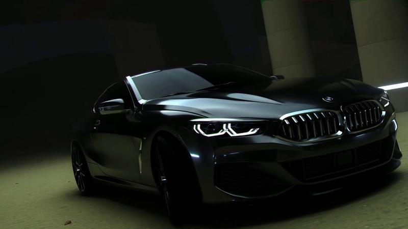 BMW 850i coupe (2019)-Automotive CGI