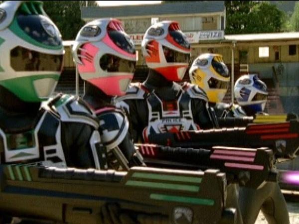 A-Squad vs B-Squad Power Rangers Fight   Power Rangers S.P.D. Episode 37 Endings Part 1