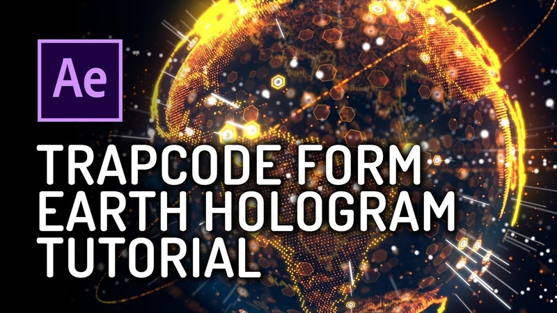 Earth Hologram Tutorial - Trapcode Form