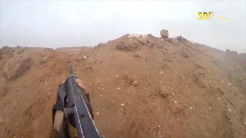 Съёмка была изъята у террориста ИГИЛ на Ирако-Рожава границе
