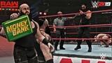 WWE 2K19 Universe Mode NEW Mid Match Cash In Tease feat. Roman Reigns, Braun Strowman &amp Finn Balor!