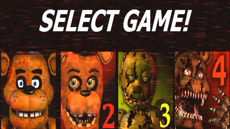 Five-Nights-at-Freddys-1-4 Jumpscare-Simulator FNAF-Fan-games