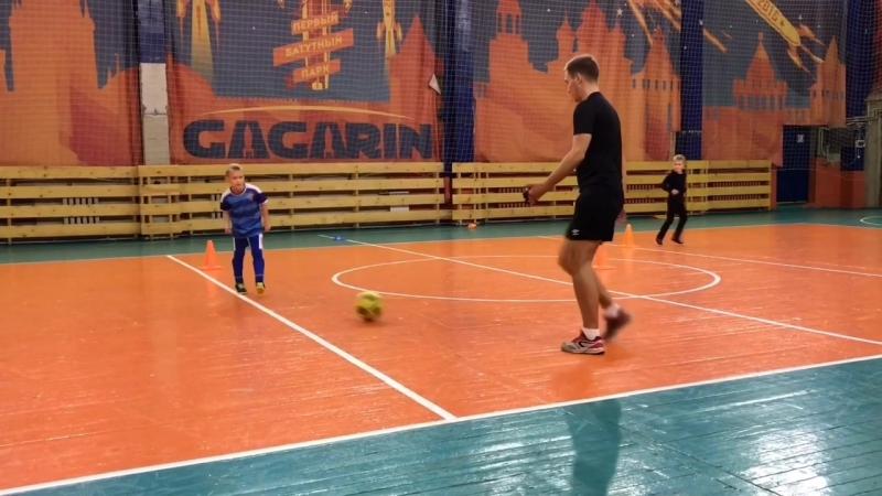 Парная футбольная тренировка ДФШ «ALMAZ»