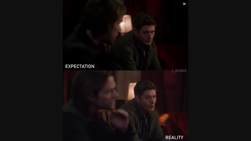 J2 TheWinchesters Expectation vs Reality Season112 SPN
