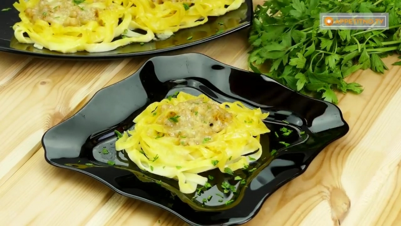 Макароны кажутся скучным блюдом Оригинальный способ приготовления любимой пасты!.T