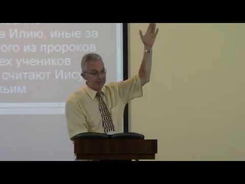 Занин Александр Преображение Господне (Мф. 17:1-8). (19/08/2018)