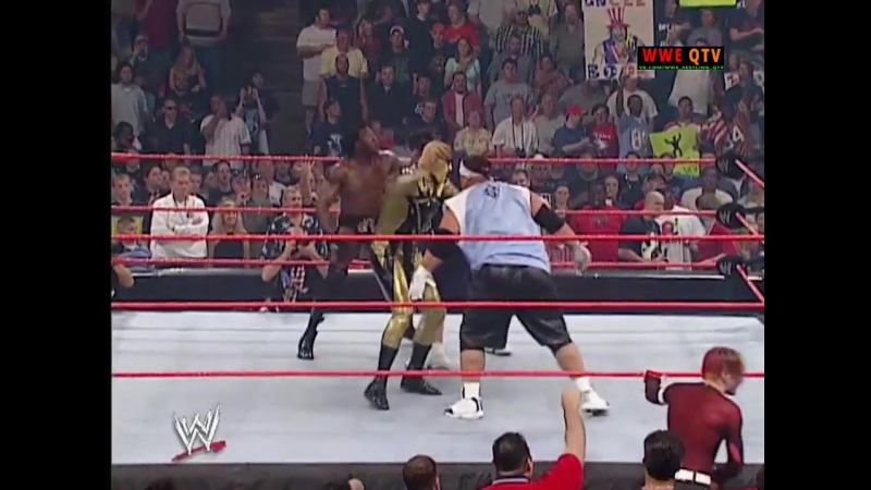 WWE QTV ☆ WWE RAW Фоменко 30 09 02 Lita is given a 3 Minute Warning Booker T Goldust vs Jamal Rosey 720