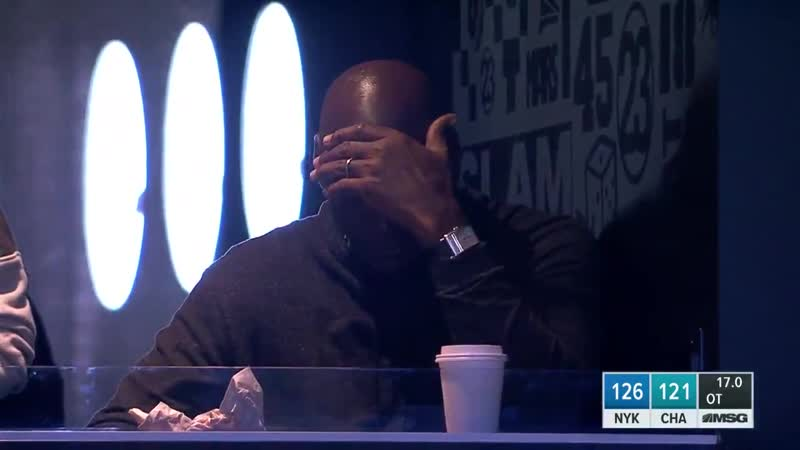 Michael Jordan would never blow a 20-point lead to the Knicks .mp4