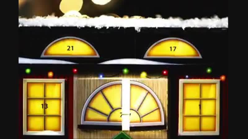 Подарочный набор BRIO Рождественский Календарь 33898