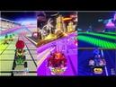 Mario Kart 8 Deluxe vs Team Sonic Racing vs Crash Team Racing Nitro Fueled Gameplay Comparison