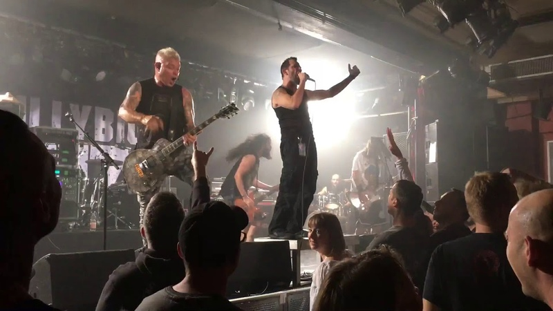 BillyBio Billy from Biohazard Robbie from The Exploited Live Colo Saal Aschaffenburg 16 10 2018