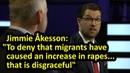Sweden Democrats leader Jimmie Åkesson debate English subtitles