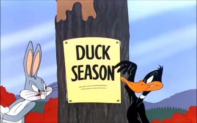 Endless conversation Duck Season or Rabbit Season