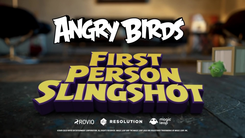Angry Birds FPS First Person Slingshot - Trailer