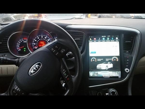 Kia Optima K5 Tesla Style Android Radio installed