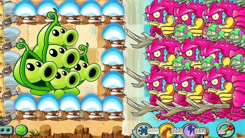 Plants vs Zombies 2 Pea Pod Pvz 2, Torchwood Vs Zomboss Gargantuar in PvZ 2