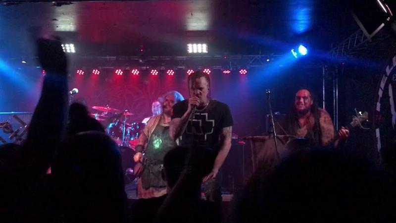 Grimner - fafnersbane (guest vocals Erik Grawsjö) live.