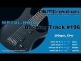 Modern Dark METAL Backing Track in C#m BT-196