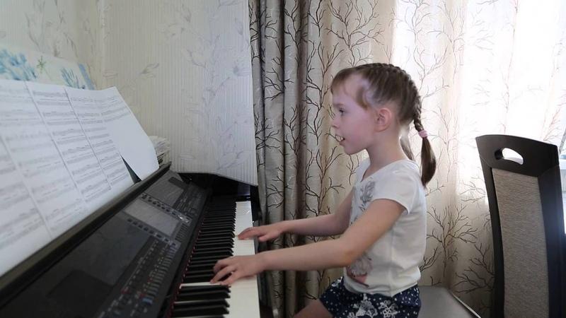 ТОЛЬКО... (Нюша). Дети поют. Виктория Викторовна 6 лет.