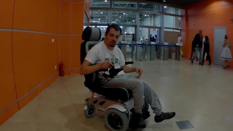 Электрическая коляска SKY WAY смотреть онлайн без регистрации