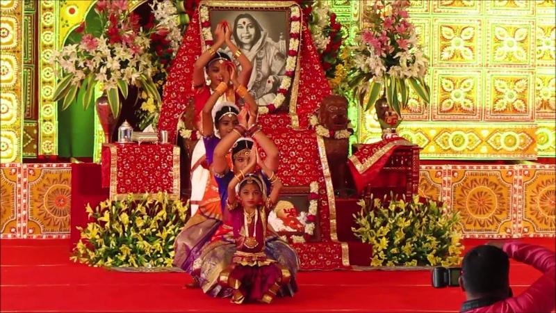 Bharatnatyam on Aai Giri Nandini