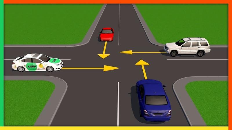 Нерегулируемые перекрестки равнозначных дорог