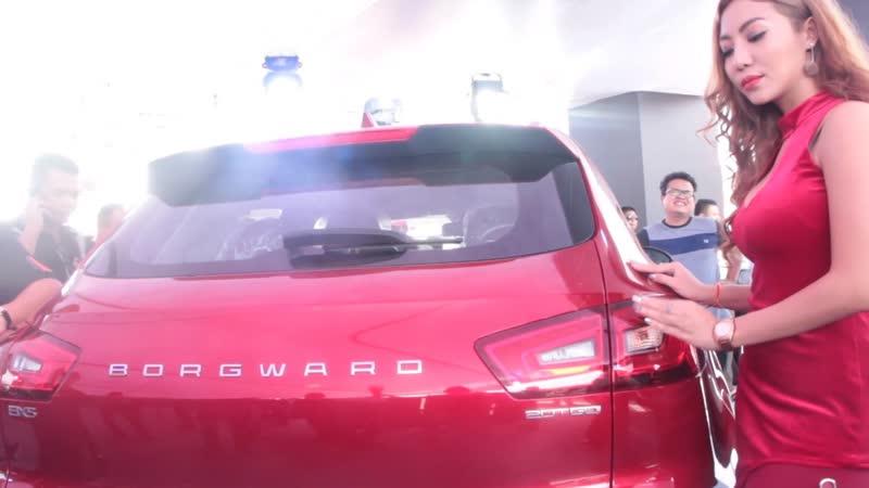 ဂ်ာမနီနာမည္ၾကီး Borgward ရဲ ့ေနာက္ဆုံးေပၚ ကားအမ်ဳိးအစားသုံးမ်ဳိး ျမန္မာမွာ ပထမဆုံး မိတ္ဆက္ျပီ