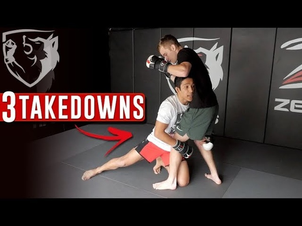 3 Ways to Set Up the Double-Leg Takedown in MMA